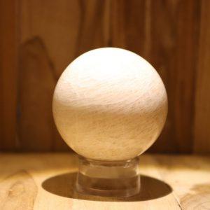 Bol van Maansteen Perzikkleur