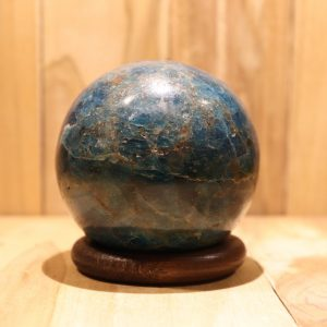 Apatiet blauw bol