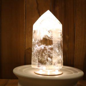 Bergkristal geslepen