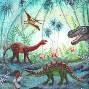 Bijdehansje – Dino Adventure