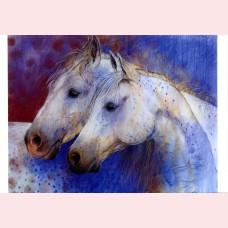 Loes Botman – Twee paardenhoofden