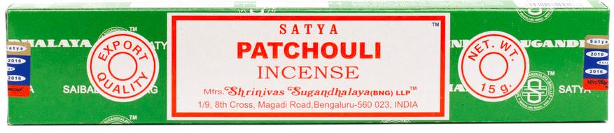 Wierook Satya – Patchouli