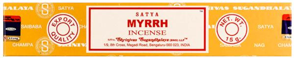 Wierook Satya – Myrrh