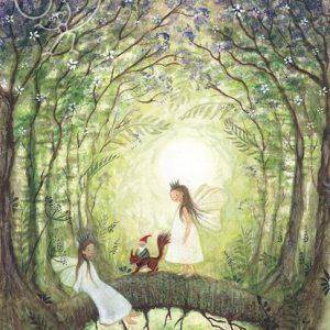 Bijdehansje – Fairies with squirrel