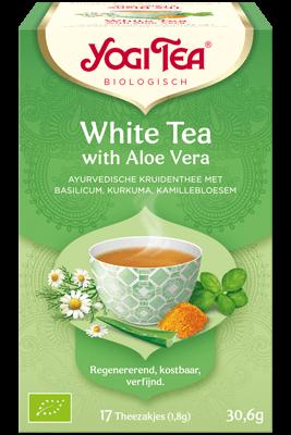 Yogi Tea – White Tea with Aloe Vera