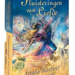 Angela Hartfield – Fluisteringen van liefde orakelkaarten