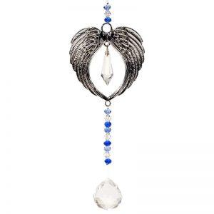 Feng Shui decoratie engelenvleugels en kristallen bal